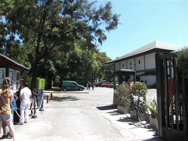 Jardin Japones anderer Eingang