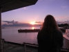 Sonnenuntergang auf dem Schiff 8