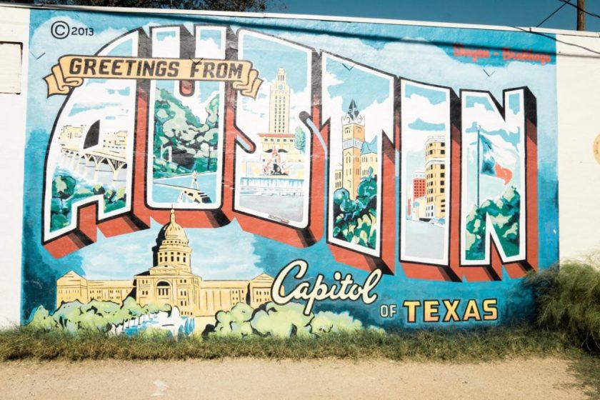 Austin, TX Infamous Sign