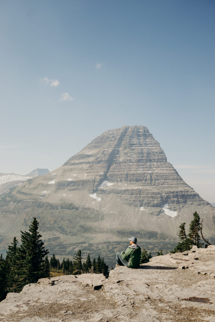 Logan Pass Glacier National Park