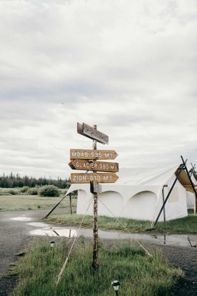 Yellowstone Under Canvas Glamping