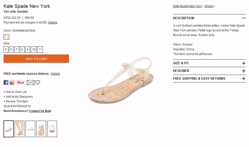 Kate Spade New York Yari Jelly Sandals - SHOPBOP_小樂圖客_截圖