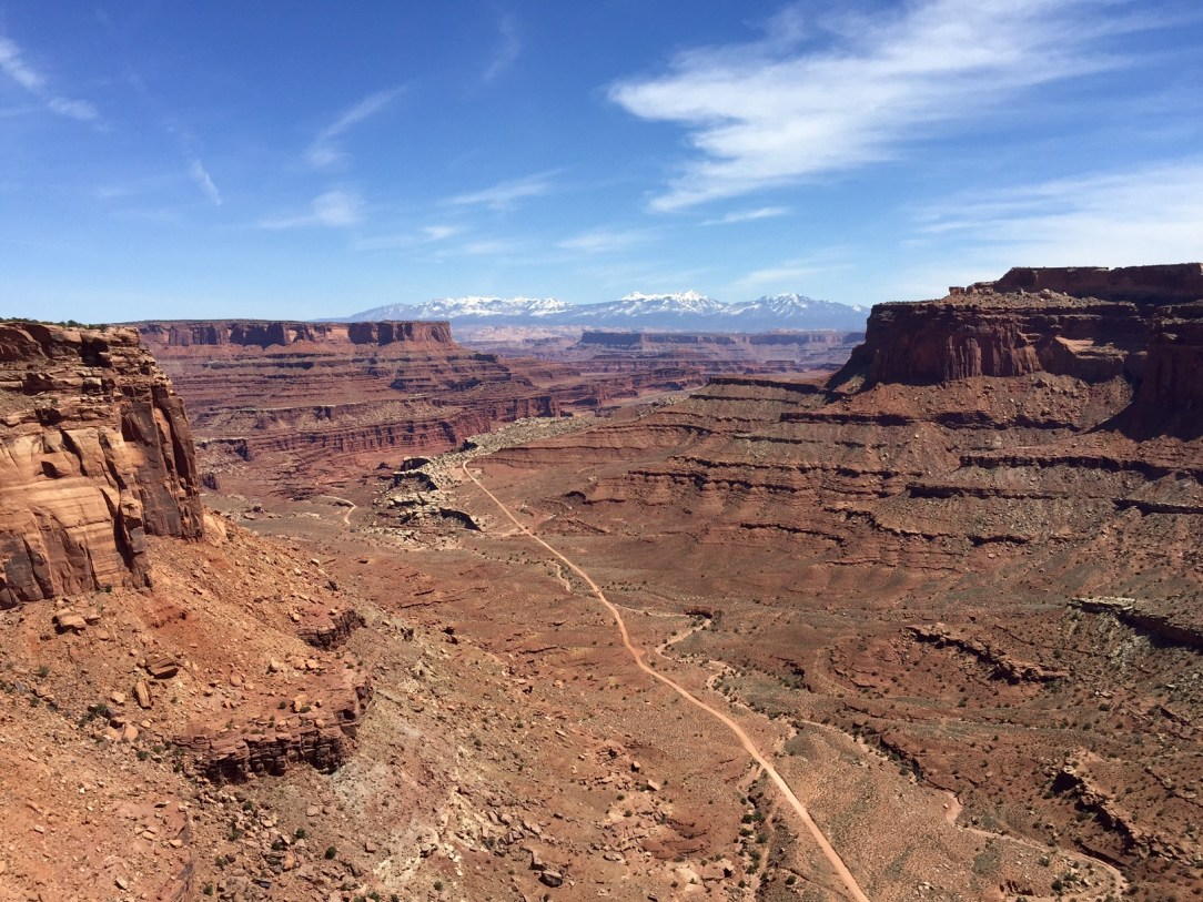 JOURNEY TO MOAB: Schaefer Trail Overlook