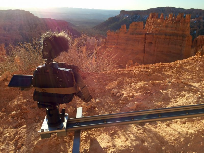 JOURNEY TO MOAB: BRYCE CANYON PRODUCTION CAMERA SLIDER