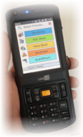 Paperless Warehousing PDA