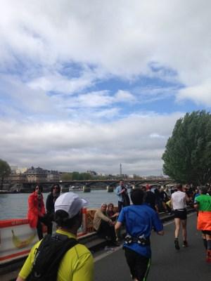 Paris Marathon 2014 route