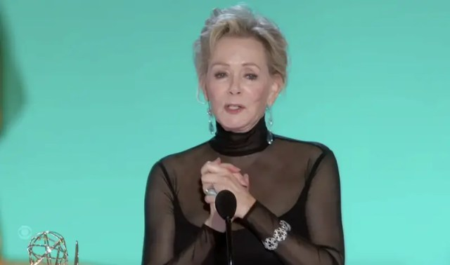 Jean Smart from Hacks at the 2021 Emmy Awards
