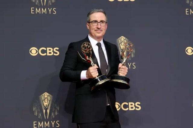 John Oliver at the 2021 Emmy Awards