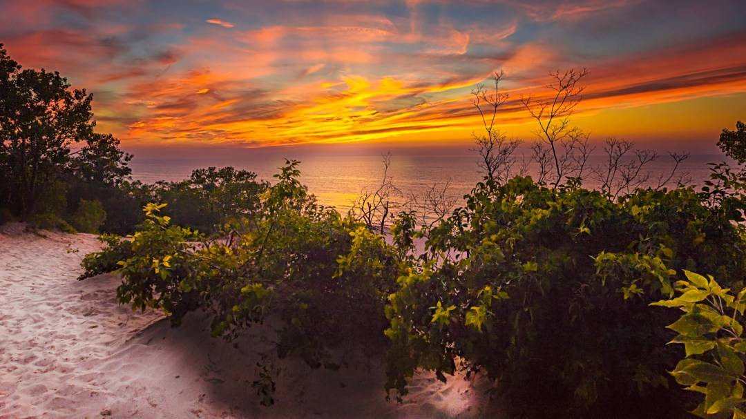 Summer Sunset by Edward Byrne