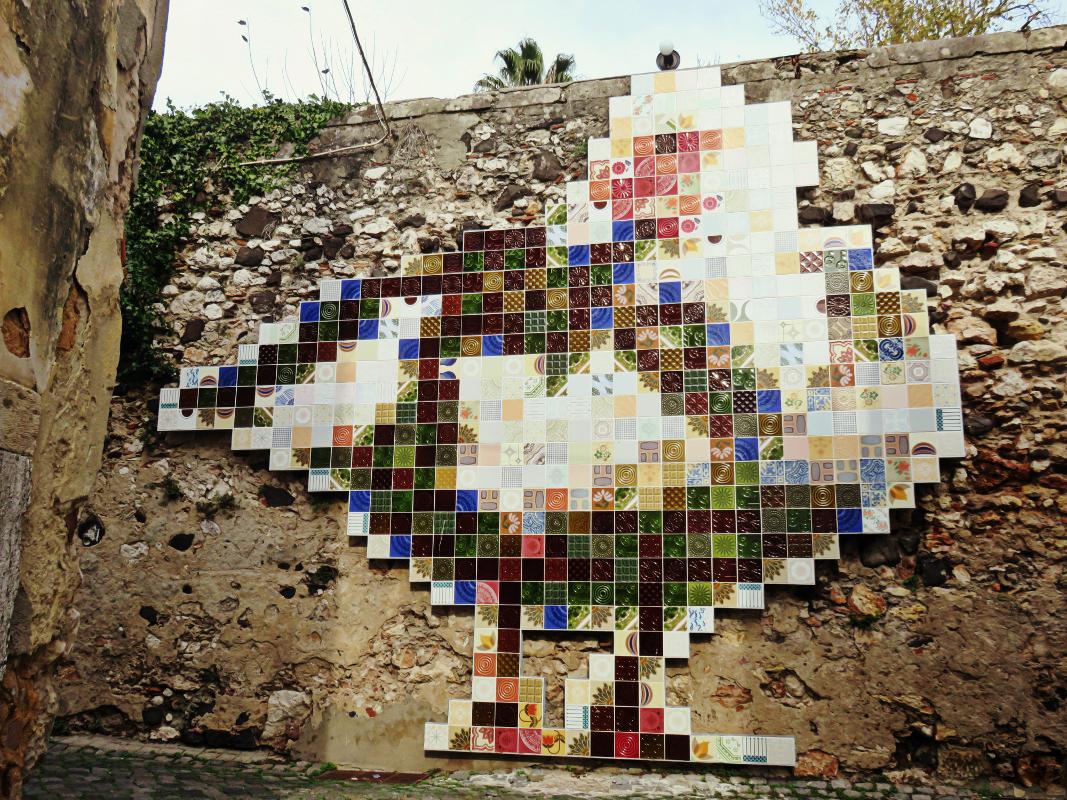 Street Art Lisbon Portugal by Olivier Schopfer
