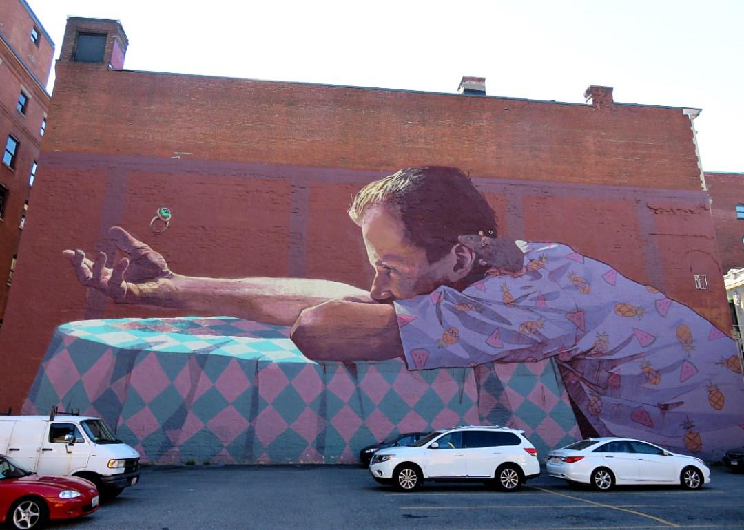 Street Art Providence RI USA by Olivier Schopfer