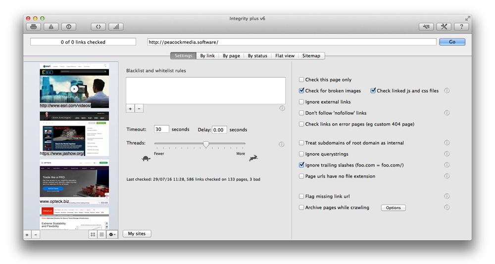 Integrity Plus 10.3.9 Mac 破解版 清理网站死链接优化工具