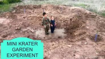 Mini Krater Garden Experiment
