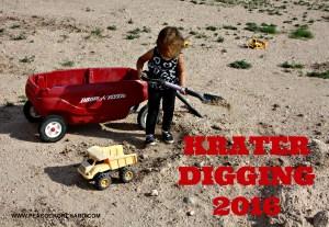 Krater Digging 2016