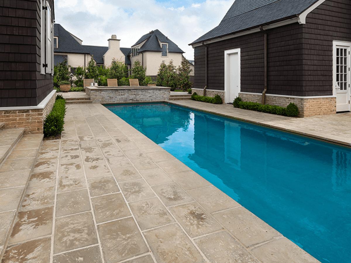 poured concrete vs concrete pavers