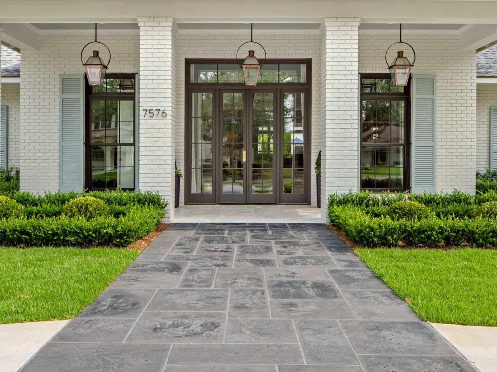 concrete pavers vs natural stone