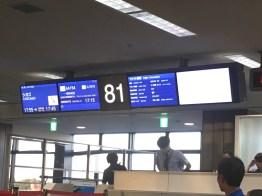Connecting flight