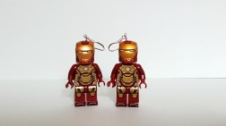 minifigure lego jewellery earring keyring necklace blocks brick toys geek nerd made of aweome wolverine harley quinn magneto star wars marvel dc comics xmen hulk avengers iron man wonder woman dead pool venom beast galactus guardians of the galaxy rocket gamora drax nebula ronin vision