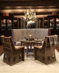 custom mule deer antler chandelier Texas Fancy interior design