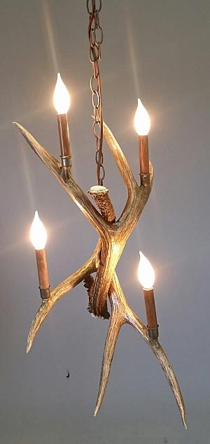 Mt lindsay antler pendant light the peak antler co 564 s mt lindsay antler pendant light chandelier aloadofball Gallery
