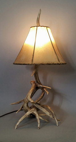 by lamp chandeliers tree a deer luca floor lights designs antler light fallow