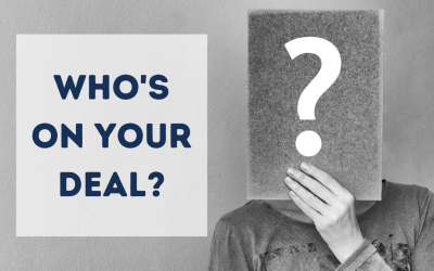 Who's on your deal?