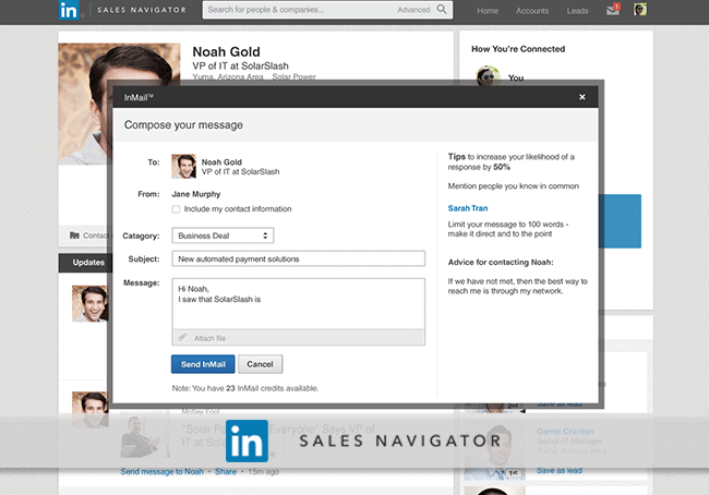Email Campaign for LinkedIn