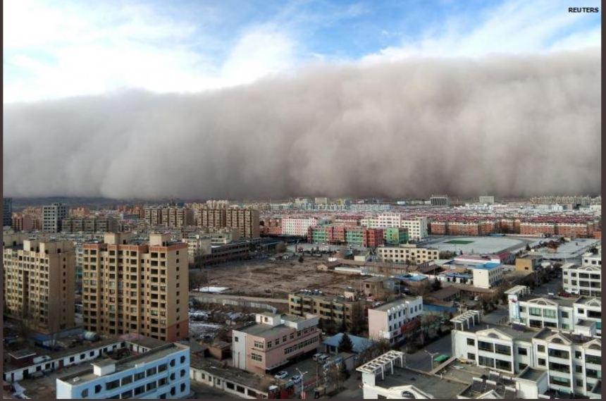 China sandstorm