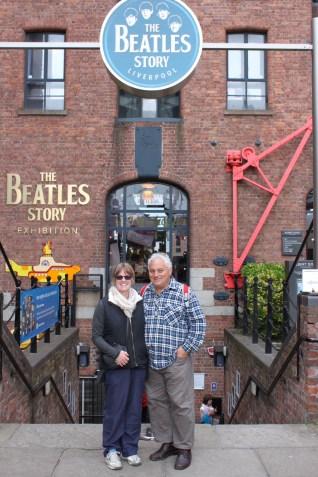The Beatles Story begins