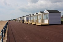 The beach huts you could rent for the day