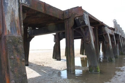 St Annes on Sea, part of the old pier.