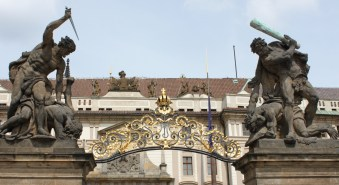 gate to the Prague Castle