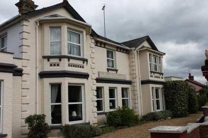 Three Tuns Coaching Inn - this was first used by motorised coaches.