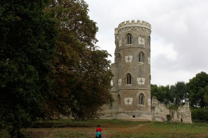 The building of 'ruins' on an estate added a certain amount of prestige and this particular one has even been restored.