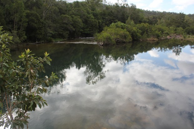 Paradise Waterhole, Big Chrystal Creek