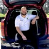 The Mobile Chiropractor of DFW with all his tools
