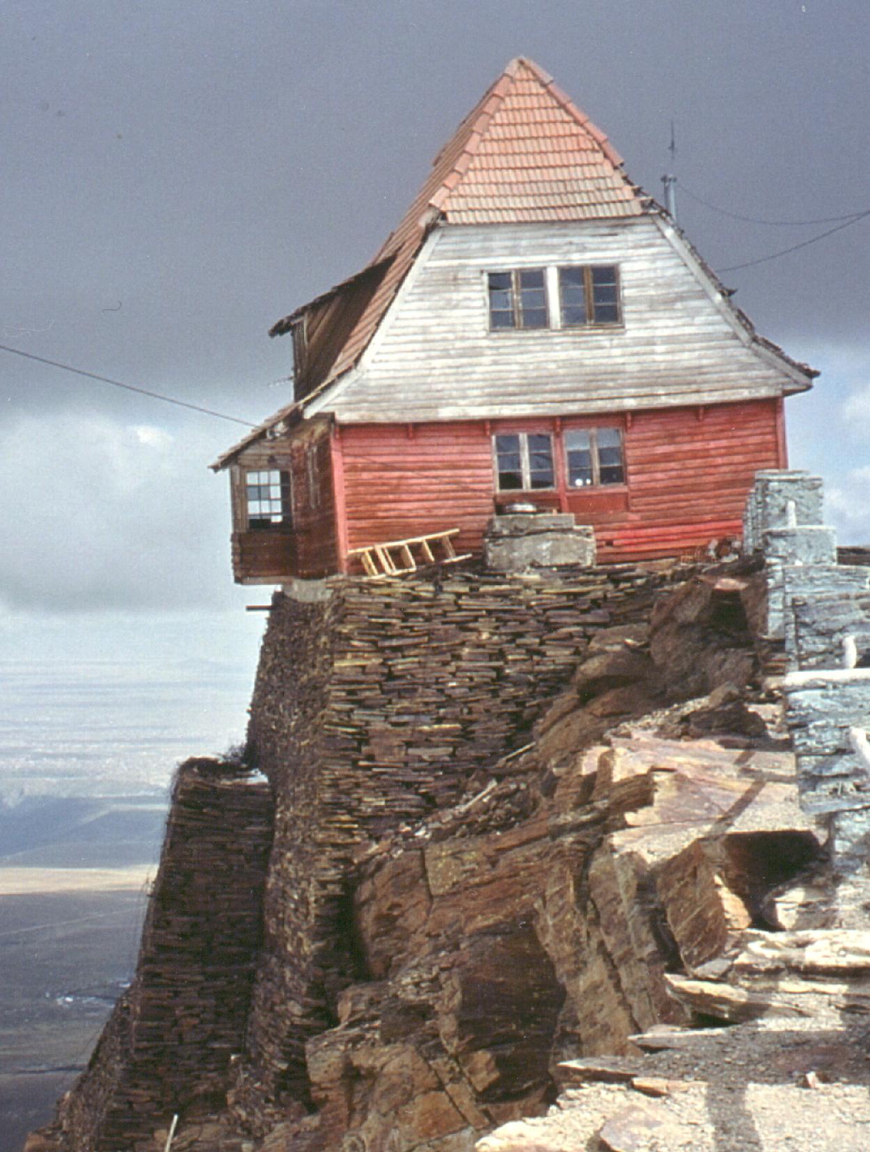 "The ""resort"" hut"