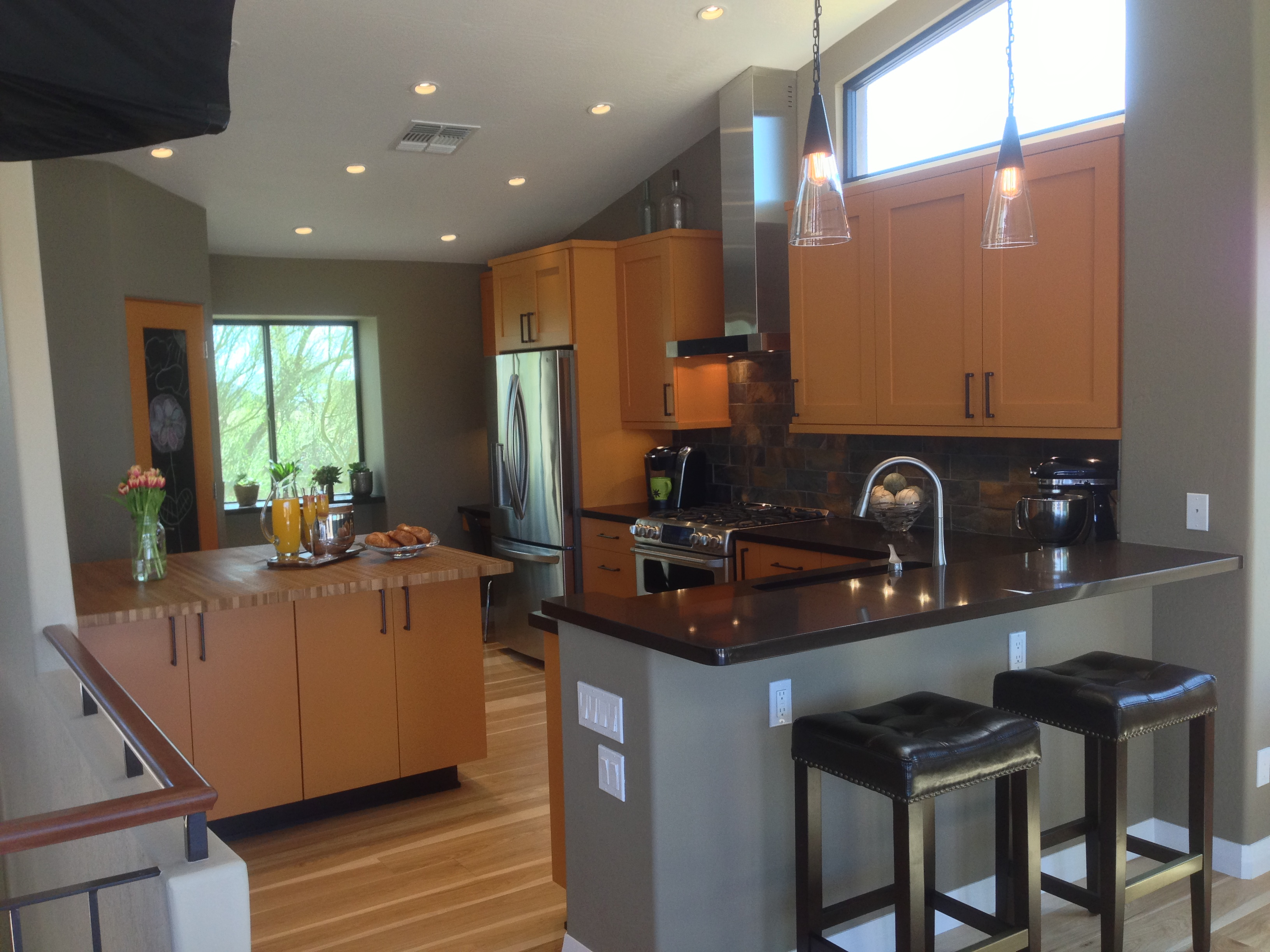 Granite Countertops for Kitchen Remodeling in Scottsdale on Kitchens With Black Granite Countertops  id=66331