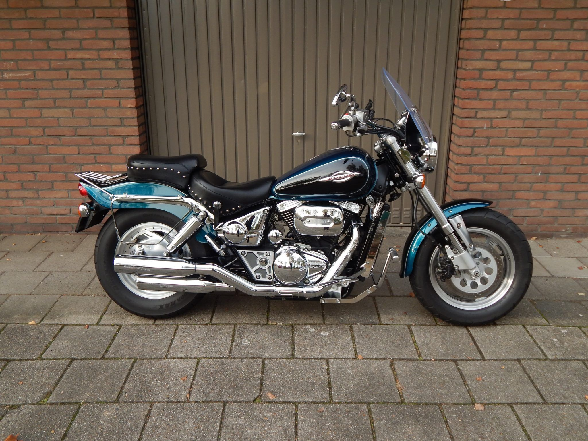 Peak Perfection motor postsen Suzuki Marauder