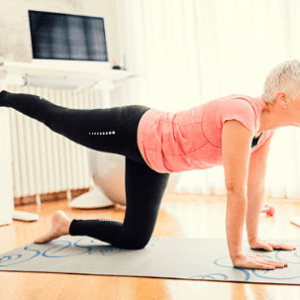 Mature Movers (Over 55's)- At Home Pilates Class