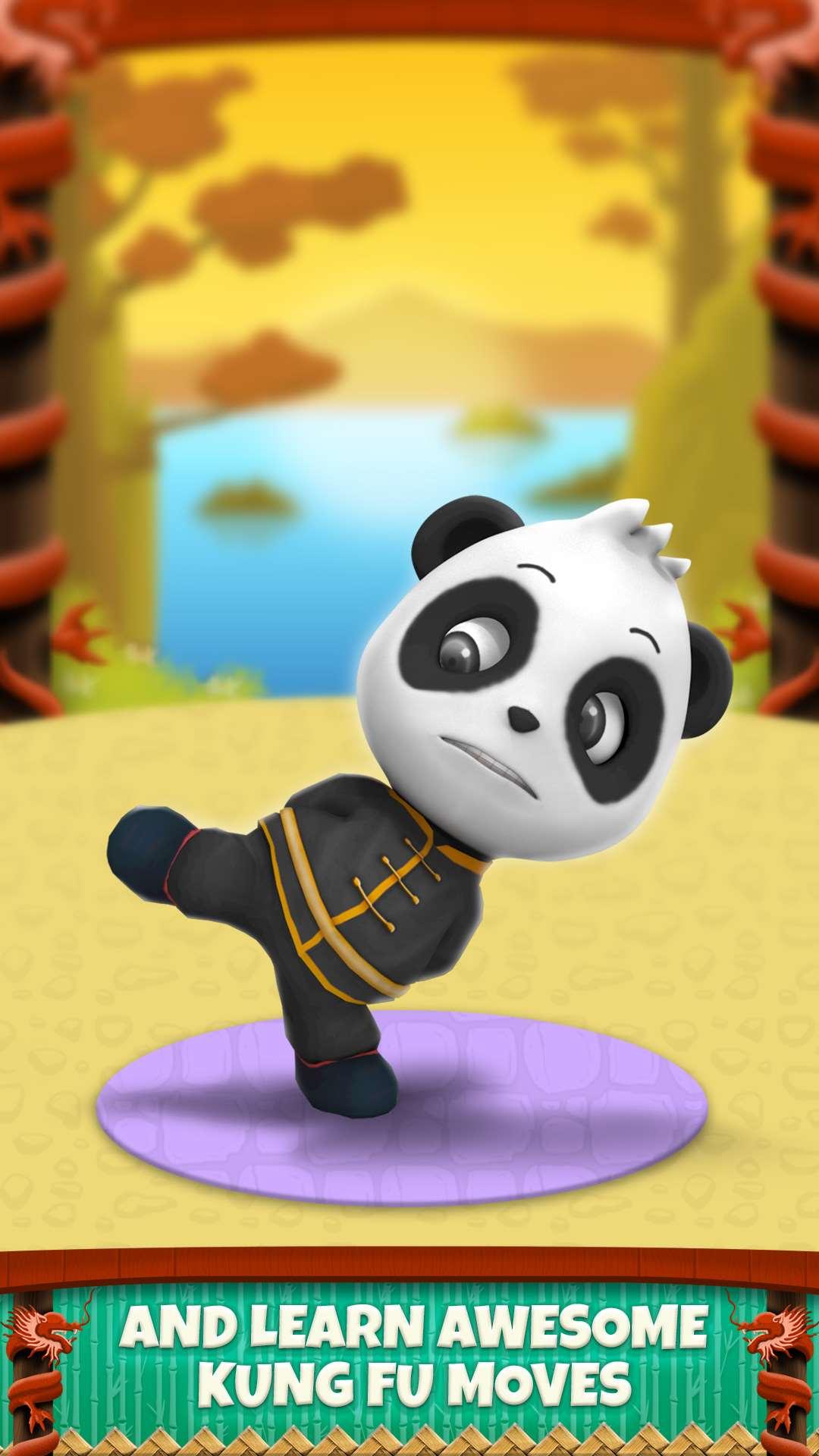 My Talking Panda Virtual Pet Game For Kids Free