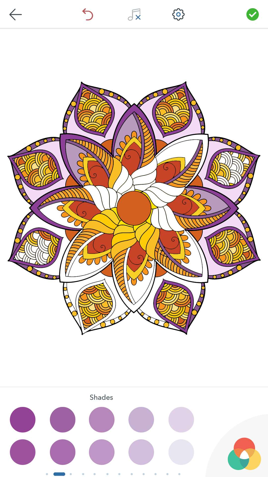 Magic Mandalas Coloring Pages For Adults For Android