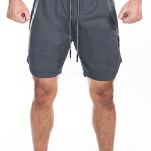 Sport Tight Short 2 in 1 Sweatpant Men