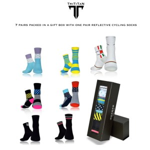 TriTiTan weekly Cycling socks overzicht