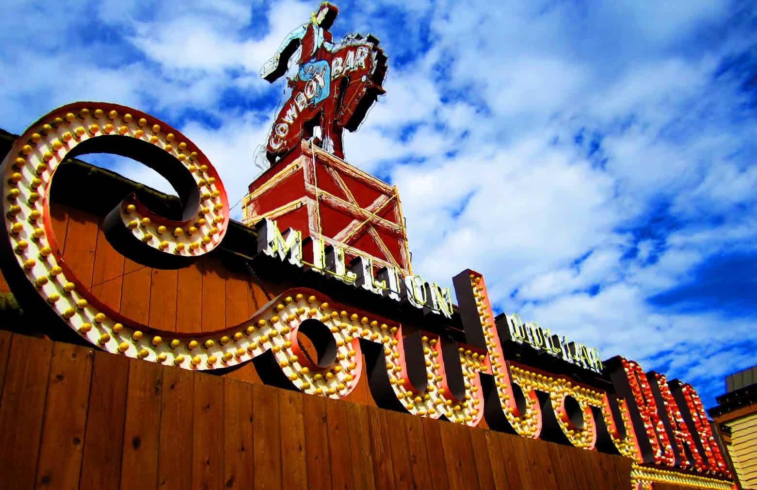 The Million Dollar Cowboy Bar in Jackson Hole is Iconic
