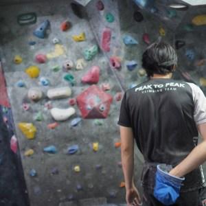 climber boulder