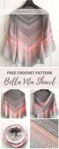 Bella vita shawl
