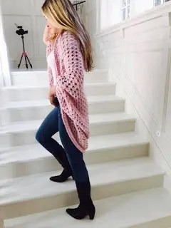 Crochet Sweater Free Patterns Womens Clothing