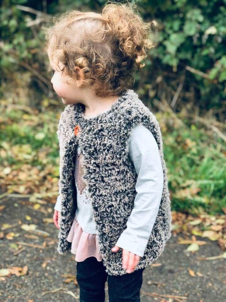 Gilet Free Crochet Pattern The Erin Faux Fur Gilet