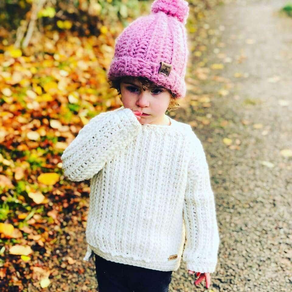 Oversized Chunky Knit Like Sweater Crochet Pattern